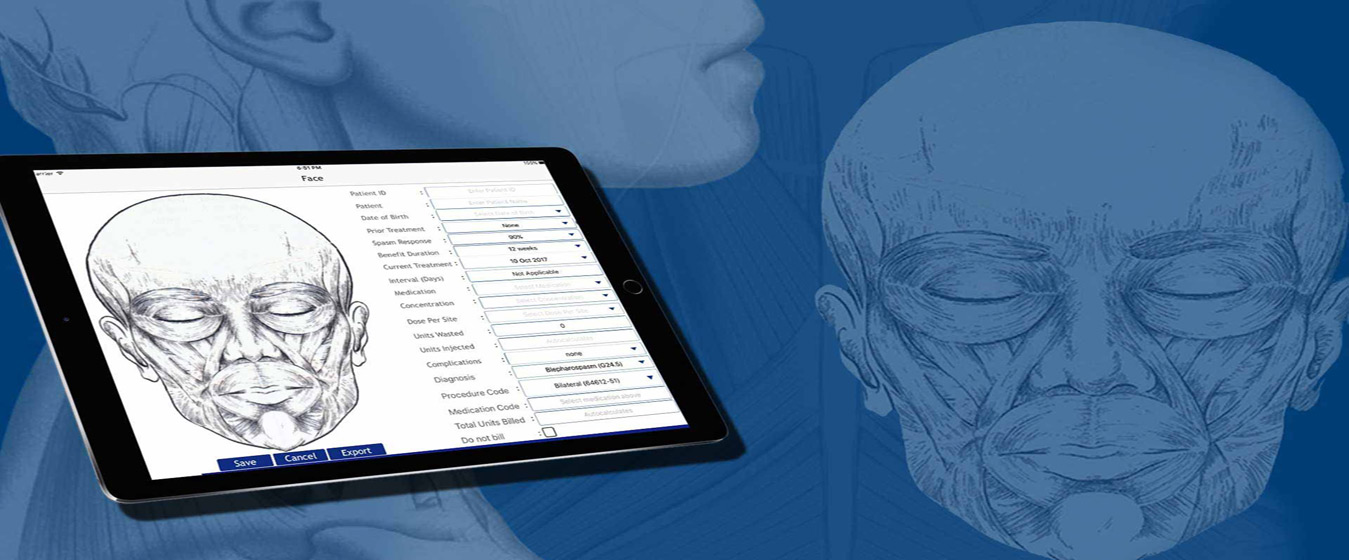 Medical App for Facial & Neck Treatment